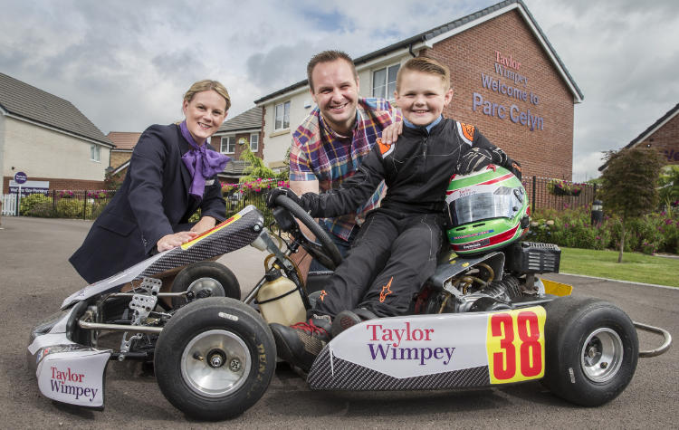 Taylor Wimpey Sponsorship for young boy