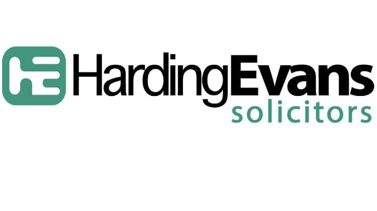HardingEvans solicitors logo