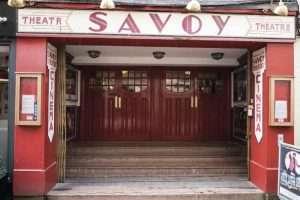 Savoy Theatre front