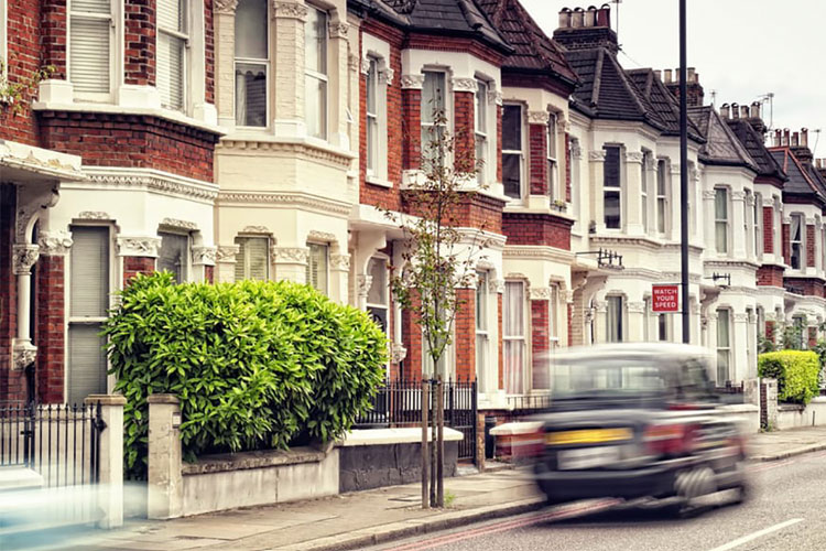 London's private housing