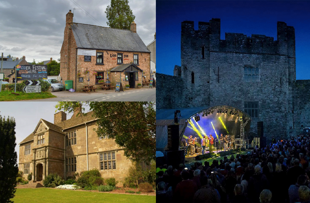 Wye Valley Chamber Music, Castell Roc Festival, & 11th Annual Cider Perry & Music Festival